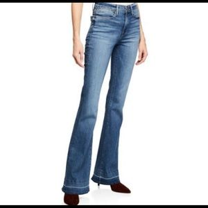 Frame Le High Flare jeans released hem size 28